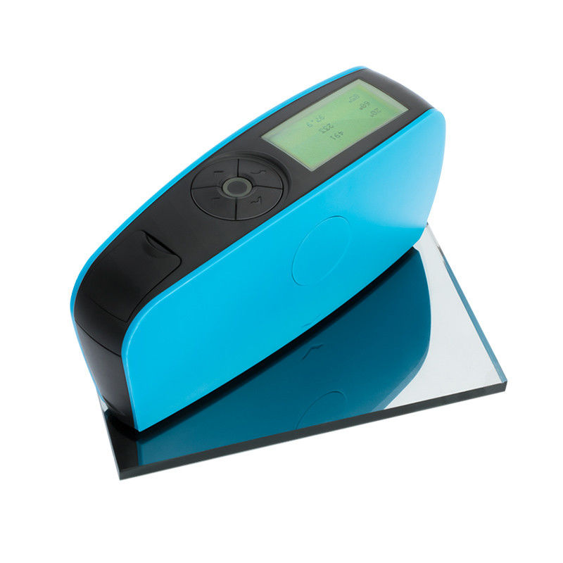 Plastic Wood Paint Ink Digital Gloss Meter Stable Performance 60° Angle For Semi Gloss